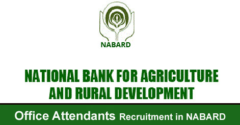 Office Attendants Recruitment in NABARD