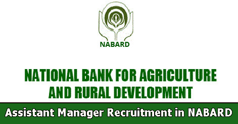 Assistant Manager Recruitment in NABARD