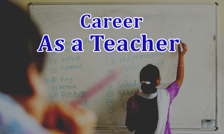 Career as a Teacher