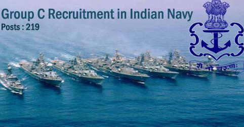 Group C Vacancy in Indian Navy