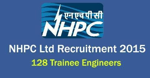 Trainee Engineers Vacancies in NHPC