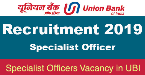 SO Recruitment in UBI