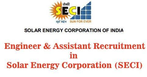 Solar Energy Corporation (SECI) Vacancy