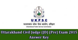 Uttarakhand Civil Judge (JD) (Pre) Exam 2015 Answer Key.jpg