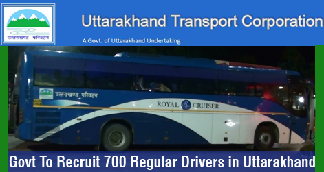 Govt To Recruit 700 Regular Drivers in Uttarakhand