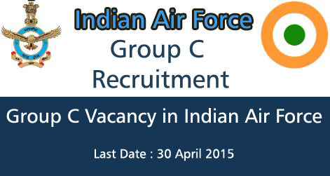 Group C Recruitment in Indian Air Force