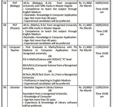 Teachers & Librarian Recruitment in Central School For Tibetans2