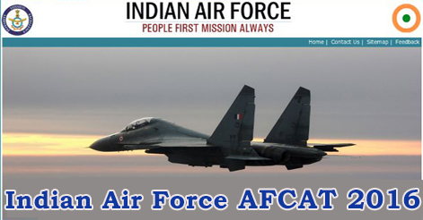 Indian Air Force AFCAT 2016