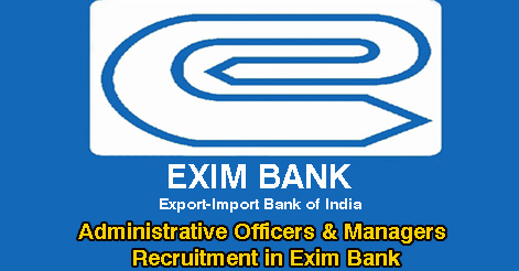 Administrative Officers & Managers Recruitment in Exim Bank