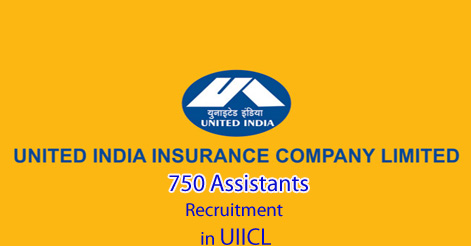 Assistants Recruitment in United India Insurance Company Limited