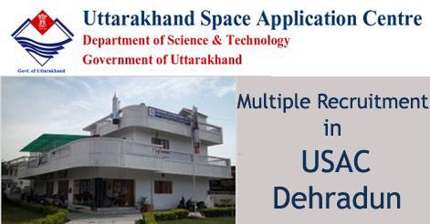 Multiple Recruitment in USAC Dehradun