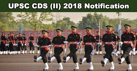 UPSC-CDS-II 2018