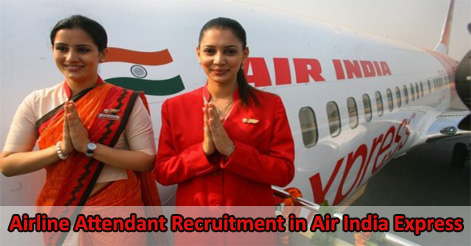 Airline Attendant Vacancy in Air India Express