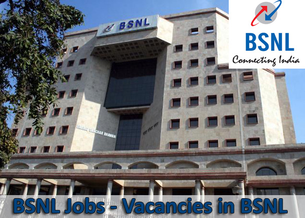Jobs & Recruitments in BSNL