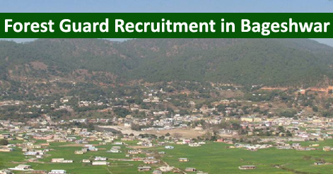 Forest Guard Recruitment in Bageshwar