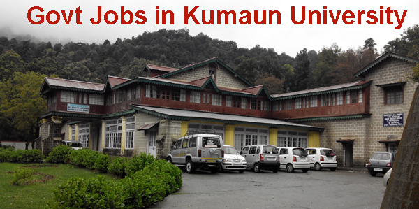 Sarkari Naukri in Kumaun University
