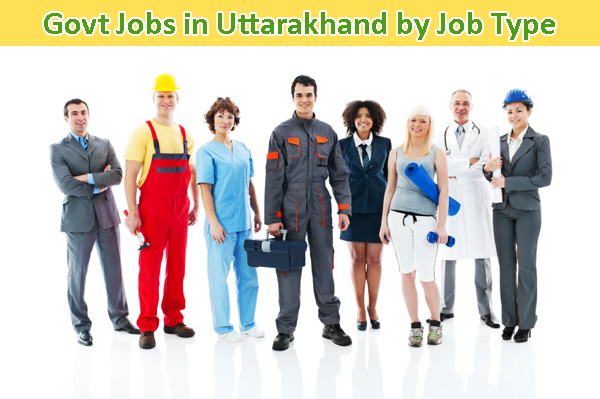 Govt Jobs by job type in Uttarakhand