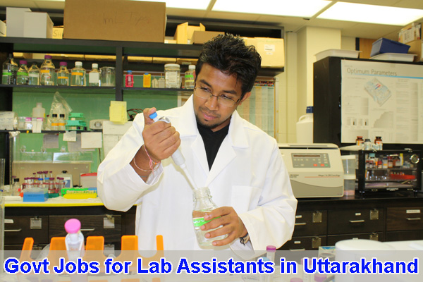 Sarkari Naukri for Lab Assistants in Uttarakhand
