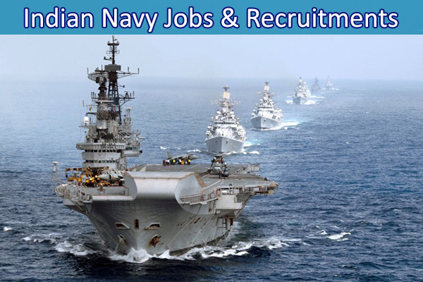 Jobs & Recruitments in Indian Navy