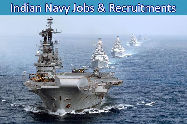 Jobs & Recruitments in Indian Navy