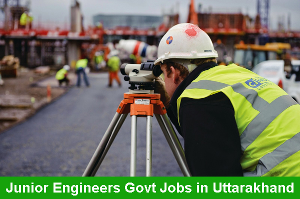 Sarkari Naukri for JE Junior Engineers