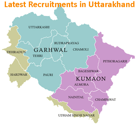 Latest Sarkari Naukri in Uttarakhand