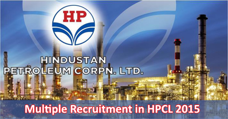 Multiple Recruitment in HPCL 2015