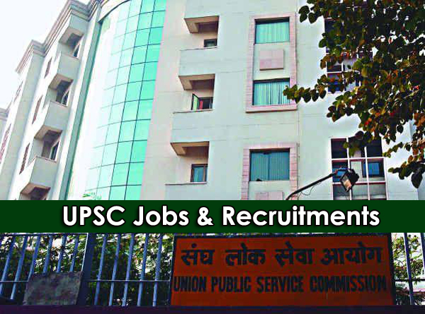 Jobs & Recruitments in UPSC