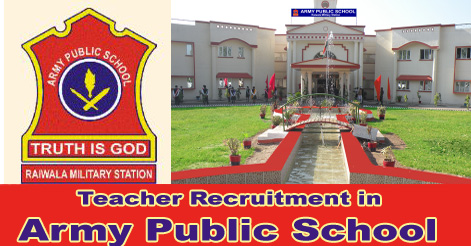 Teacher Recruitment in Army Public School