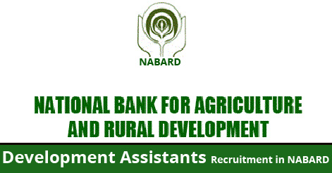 Development Assistants Recruitment in NABARD