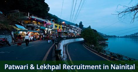 Patwari & Lekhpal Recruitment in Nainital