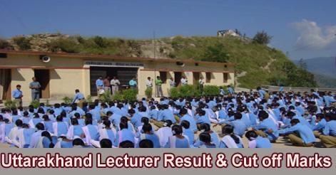 Uttarakhand-Lecturer-Exam-Result