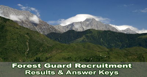 Latest Forest Guard Result  Uttarakhand