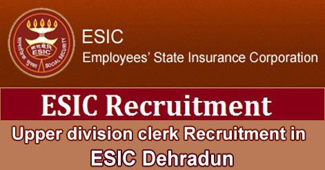 UDC Recruitment in ESIC Uttarakhand.jpg