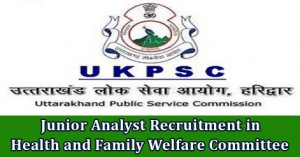 Junior Analyst Recruitment in Health and Family Welfare Committee.jpg