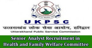 Senior Analyst Recruitment in Health and Family Welfare Committee.jpg