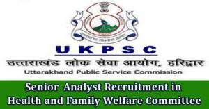 Senior Analyst Recruitment in Health and Family Welfare Committee.jpg