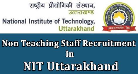 Non Teaching Staff Recruitment in NIT Uttarakhand.jpg