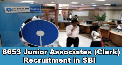 Clerk Recruitment in SBI