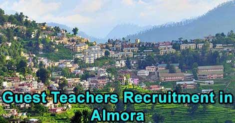 Guest Teachers Recruitment in Almora District