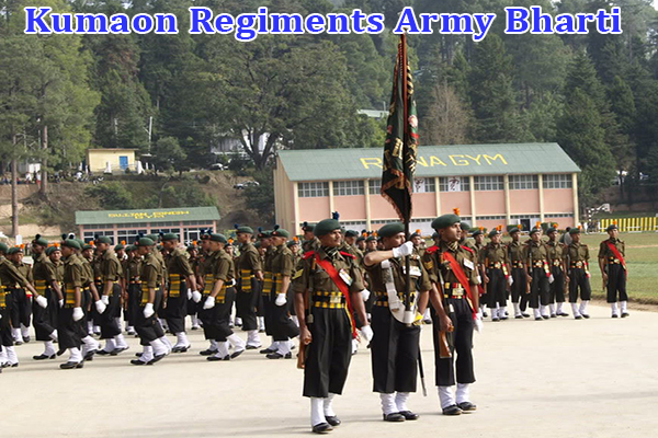 Kumaon Regiments Army Bharti