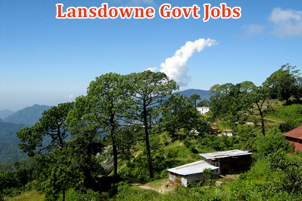 Lansdowne Government Jobs