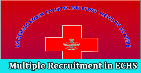 Multiple Recruitment in ECHS Uttarakhand