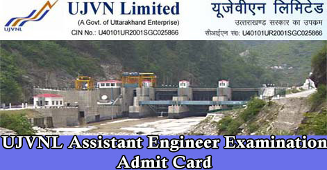 UJVNL Assistant Engineer Examination Admit Card