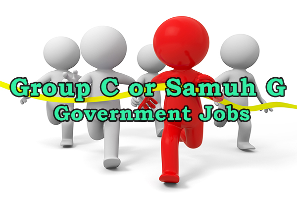 Group C or Samuh G Government Jobs
