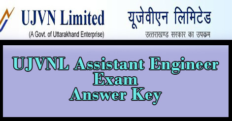 UJVNL Assistant Engineer Exam Answer Key