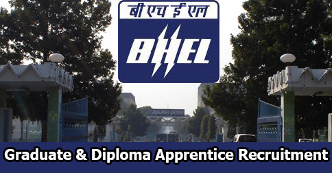 Graduate & Diploma Apprentice Recruitment in BHEL Haridwar