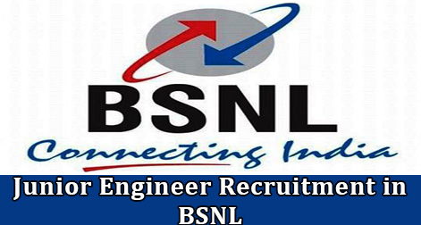 Junior Engineer Recruitment in BSNL