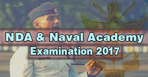 NDA & Naval Academy Examination (I) 2017