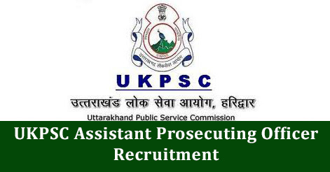 UKPSC Assistant Prosecuting Officer Recruitment